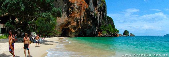 Railay Beach i Krabi