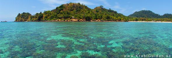 Koh Hai i södra Krabi